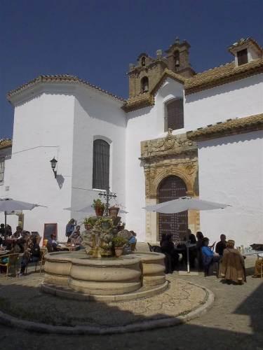 Plaza de Santa Ana, frente al castillo, Priego de Córdoba